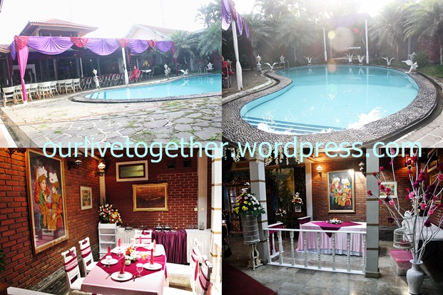Pool area - VIP area