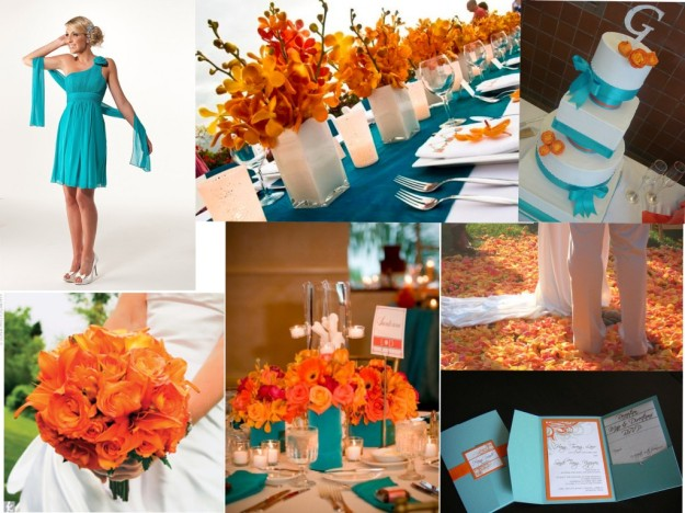 Tangerine-and-Turquoise