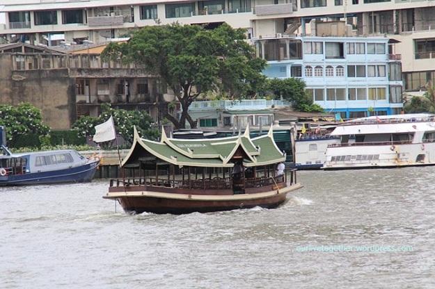 layanan boat dari salah satu hotel