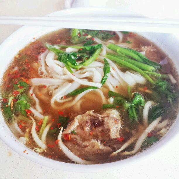 Thanksin beef noodle